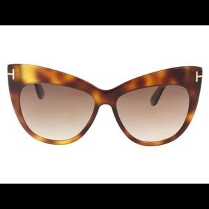 Brand New Tom Ford Nika medium Havana sunglasses